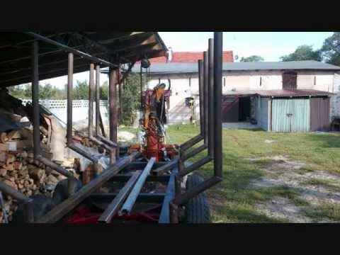 Przyczepa leśna /UNHZ 500/Homemade Log Loading Trailer
