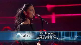 Pia Toscano - All In Love Is Fair (American Idol Performance)