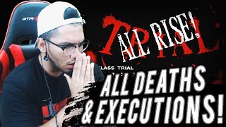 RETRO REACTS TO ALL DEATHS / EXECUTIONS ?Danganronpa: Trigger Happy Havoc?