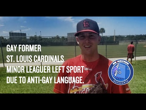 Gay former Minor League Baseball player Tyler Dunnington wants to work in baseball