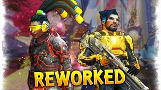 NEW Hanzo & Lucio..?! | Overwatch Best and Funny Moments - Ep.235