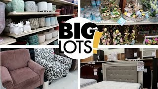 "BIG LOTS ""SPRING 2019"" FURNITURE, EASTER & PLANT SUPPLIES"