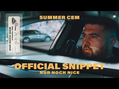 Summer Cem // NUR NOCH NICE // [ official Video Snippet ] 8. November 2019