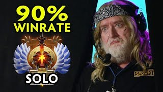 WHO IS HE? 90% WINRATE SOLO IMMORTAL RANK