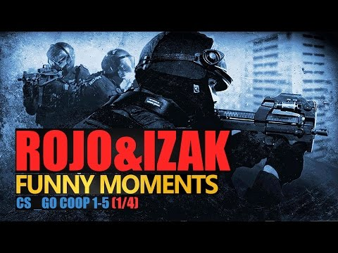 Funny Moments #118: CS:GO | CO-OP 1/4 | IZAK & ROJO by Urhara