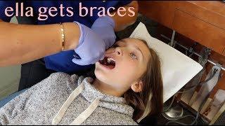 Ella Gets Braces!