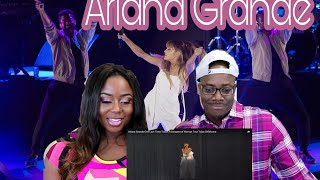 Download Lagu Ariana Grande - One Last Time /Touch It- Dangerous Woman Tour- Tulsa | Couple Reacts Gratis STAFABAND