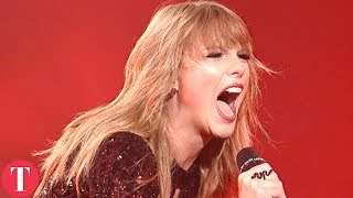 Taylor Swift Breaks AMA Records And XXXTentacion