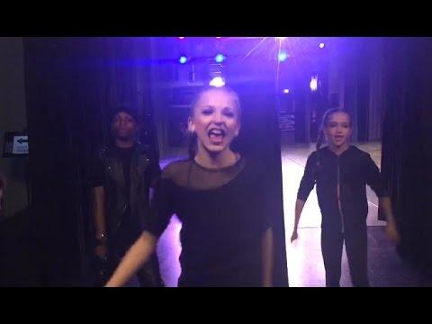 Dance Moms: Brynn having fun backstage