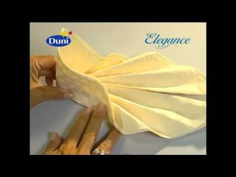 Be inspired and get instructions from our napkin folding movie clips