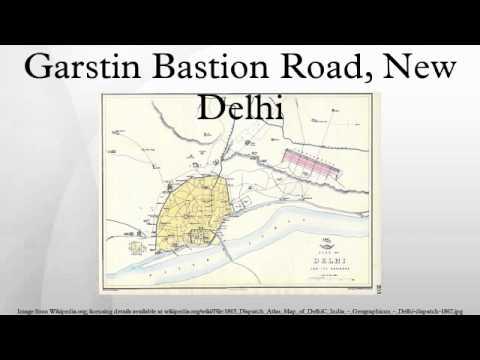 Garstin Bastion Road, New Delhi video