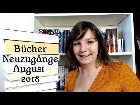 Bücher Neuzugänge August 2018
