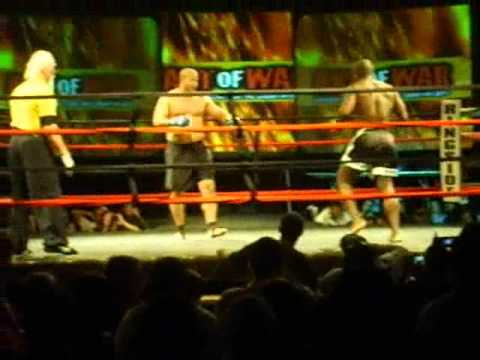 Sanshou - Wael Karika vs. Pat Mandio - Heavyweight Kickboxing Tournament Image 1