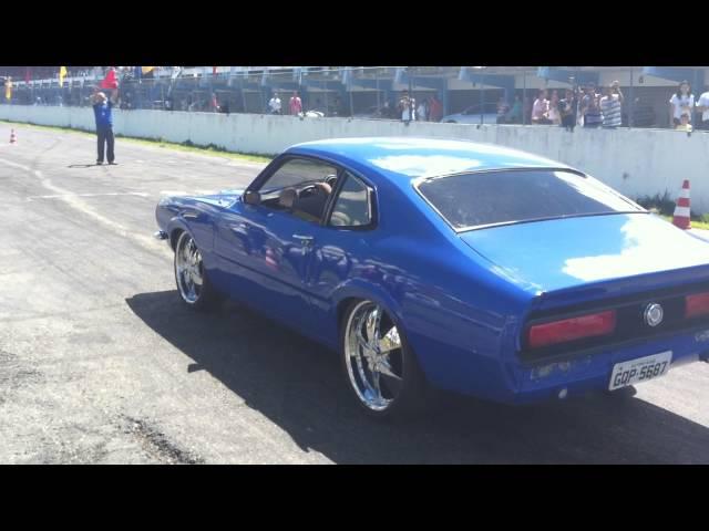 Arrancada Maverick V8 Fernando x Opala 6cc Turbo