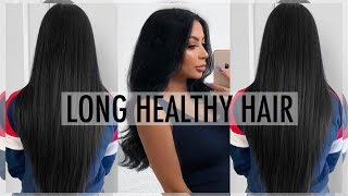 GROW LONG HEALTHY HAIR|| + POSTPARTUM HAIR LOSS