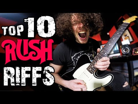 Top 10 Rush Riffs