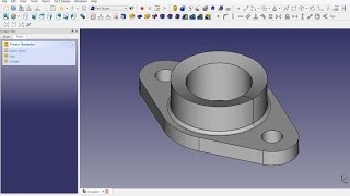 FreeCAD 0.16 (4703) Packing gland - Getting started