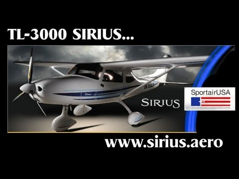 TL Ultralights Sirius TL3000 light sport aircraft pilot review PART 1.