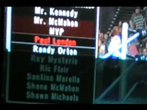 Smackdown Vs Raw 2009 Wwe Superstar's Entrance Music Part 5 video