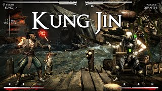 MKX | Kung Jin Combo Compilation By Eh SnOwY [60 FPS] [PC]
