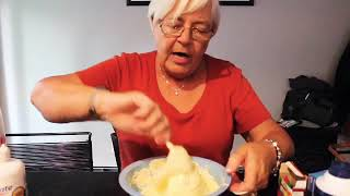 Grandma making slime??😳😂