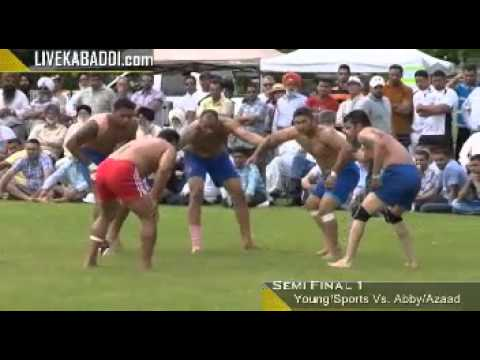 Oliver Kabaddi Cup -- Semi Final 1 -- Canada Kabaddi 2014 video