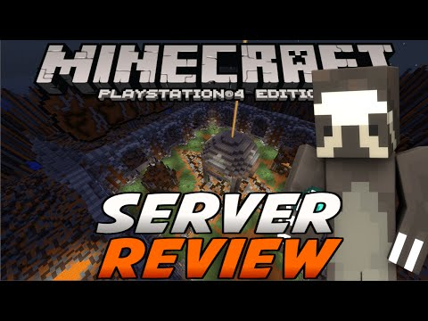 Minecraft PS4 - FACTIONS SERVER REVIEW! [Ep.1] -