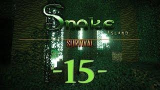 Snake Island Survival Minecraft #15 [End]