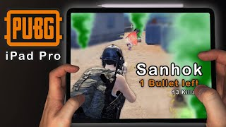Greedy mistake with only one bullet left - PUBG Mobile on Sanhok using newest Apple iPad Pro 12,9