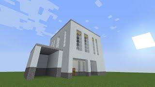 【Minecraft】初心者でも簡単に作れる家!【1軒目】