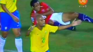 BRASIL VS CHILE- CLASIFICATORIAS SUDÁFRICA 2010