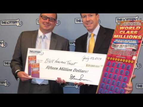 Record $15M win is lottery money mystery