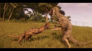 Jurassic World Evolution EP. 6 Dino fights, Dino escape, Dino death