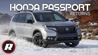 2019 Honda Passport is ready to take on the Chevy Blazer, Ford Edge and Jeep Grand Cherokee | Review