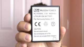 *MUGEN POWER* - Galaxy S3 4600mah Extended Battery