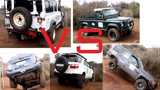 LAND ROVER DEFENDER vs TOYOTA vs JEEP GRAND CHEROKEE