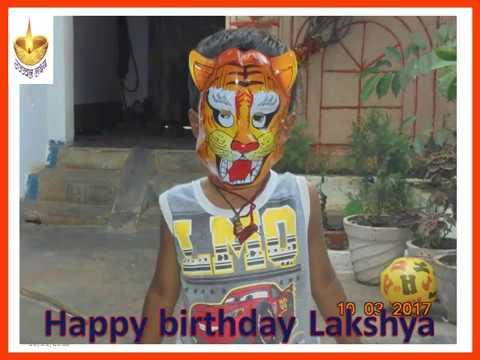 Happy birthday Lakshya 1