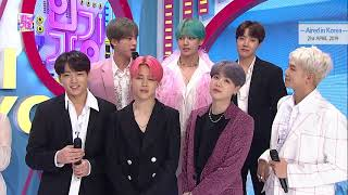 "[Hotclip Awards] ""INKIGAYO"" Interview By 'BTS', Who Has Finally Made a COMEBACK."