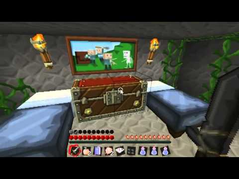 Minecraft ผจญภัย - แมพ Revenge of king cluck #1