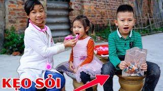 Trò Chơi Viên Kẹo Kì Quái - Bé Nhím TV - Đồ Chơi Trẻ Em Thiếu Nhi