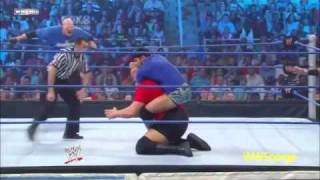 Big Show and Kane vs Justin Gabriel and Heath Slater smackdown 29 04 11