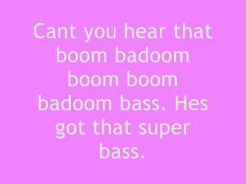 Nicki Minaj - Super Bass lyrics