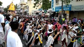 Bangalore Iskcon HBR layout RATHA YATHRA 2017
