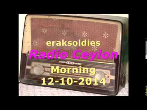 Radio Ceylon 12-10-2014~Sunday Morning~01 Film Sangeet - In...