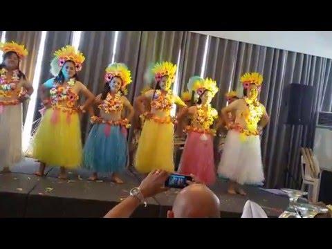 Hawaiian Dance Christmas Party Presentation 2014