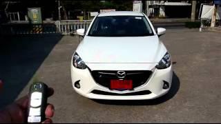 Po-40 : Remote Control Auto Side Mirror : Mazda 2 diesel 2015 Part 1/2