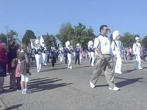 Otsego High School Marching Band @ Memorial Day Parade 2011