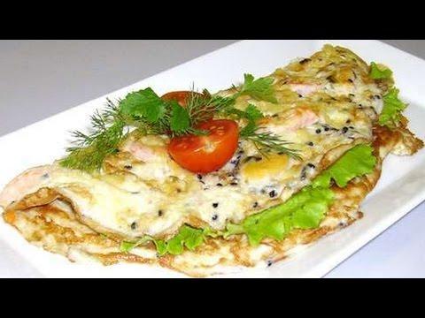 Как приготовить омлет со шпинатом. | How to cook an omelet with spinach.
