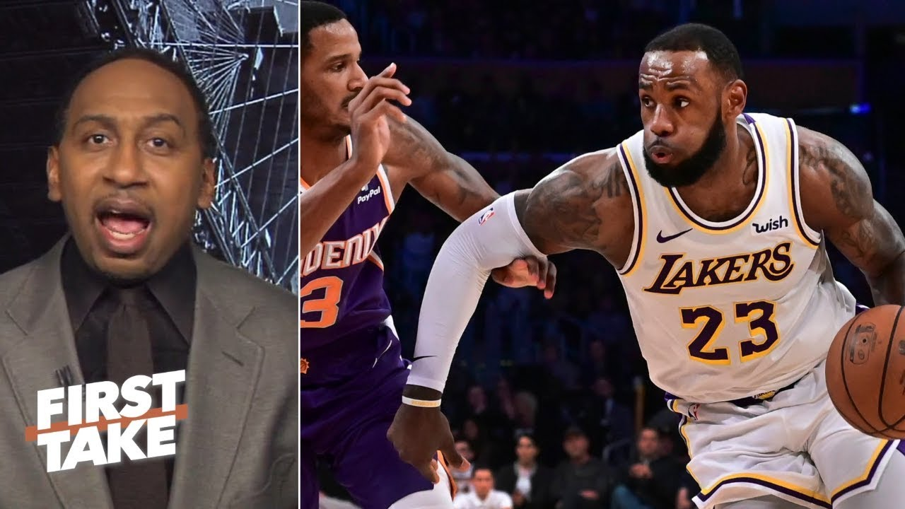 Stephen A. calls out Kobe Bryant for his comments on LeBron James' workload   First Take
