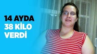 14 Ayda 38 Kilo Verdi
